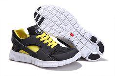 huge discount 58c0b 9d507 NIKE HUARACHE FREE 2012 MEN RUNNING SHOES BLACK WHITE-VOLT  66.38 Cheap Nike  Running