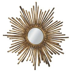I pinned this Sunburst Ribbon Mirror from the Style Study event at Joss & Main!
