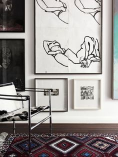 The home of Sydney artist Guy Maestri. Photo – Eve Wilson via thedesignfiles.net