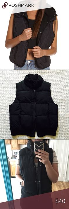 MERONA PUFFER VEST Perfect condition. Size large fits like a medium. NO TRADES OFFERS WELCOME. The first pic is not the actual item but the rest of the pics are. Merona Jackets & Coats Vests