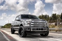 Exclusive Motoring Ford F150 Platinum On 22″ Fuel Offroad Wheels