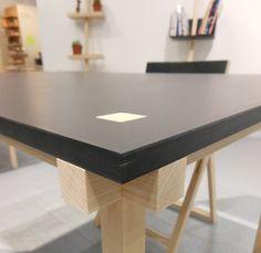 Knot Table détail - Makers With Agendas un studio de design émergent