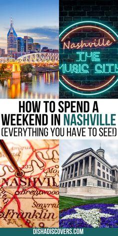 Nashville Bachelorette Weekend, Weekend In Nashville, Nashville Vacation, Tennessee Vacation, Nashville Tennessee, Tennessee Girls, Visit Nashville, Nashville Things To Do, Weekend Trip Packing