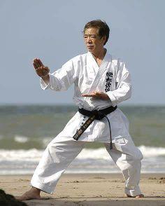 Sensei Hirokazu Kanazawa...