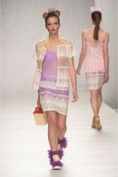 Love Ryan Lo's doll's house bag at Fashion East SS14
