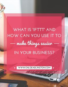 What is IFTTT and how can you use it to help manage your social media more easily?