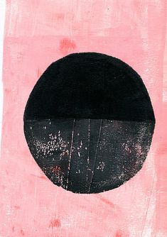 black circle art by ashley g