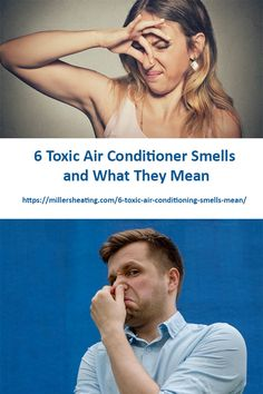 What's that awful smell? When your central air conditioner smells bad, it's never a good sign, and definitely not good for your health. Even worse, some smells are toxic, and require urgent attention. Meant To Be, Conditioner, The Unit, Sign, Health, Health Care, Salud