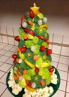 reflejos femeninos comidas navideas