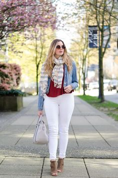 The Ultimate Spring Style Staple: White Jeans