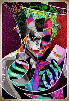 The Joker by Omar Molina: