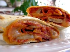 Grilled Pizza Wraps Recipe - Food.com DMR: Uses tortillas! In electric skillet