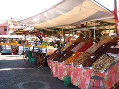 Jemaa el fna , Marrakech , Maroc