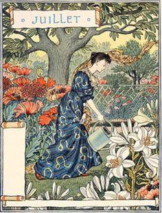 Картинки по запросу eugene grasset calendar