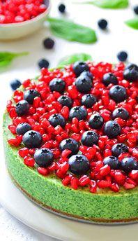 Serniki bez pieczenia Cheesecakes, Pomegranate, Food, Gastronomia, Granada, Essen, Cheesecake, Pomegranates, Meals