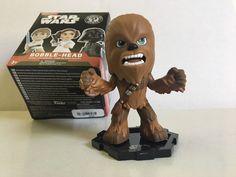 Funko STAR WARS Mystery Minis Bobble Head Chewbacca 1/8 Rarity New Opened  | eBay