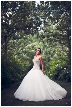 Danielle looks like something out of a storybook as she prepares to marry John in March 2015.