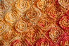 Crochet Pattern Fire Blanket. via Etsy.