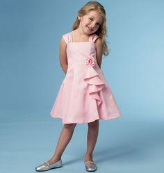B5980 Pretty In Pink Child's Dress