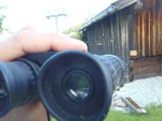 Fluglochbeobachtung Binoculars, Bee House, Witches