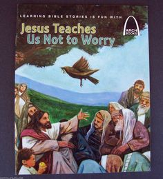 Jesus Teaches Us Not to Worry by Julie Stiegemeyer (Paperback) SHIPPING INCLUDED