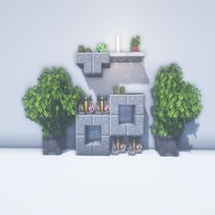 Diy Minecraft, House, Decorating Rooms, Decorations, Home, Homes, Houses