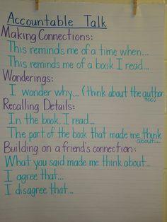 Partner Reading - Accountable Talk