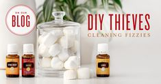 Ever wonder what kind of chemicals are in your cleaning products? Natural cleaning products aren't easy to find; but with these DIY cleaning fizzies, you will have safe cleaning products to use for quick clean ups. They also contain Lemon essential oil to create a fresh-smelling bathroom or kitchen.
