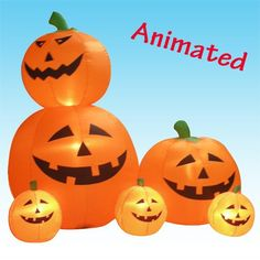 6 Foot Inflatable Animated JackOLanterns ** Continue to the product at the image link.