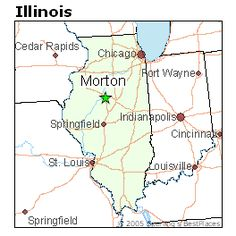 Morton, IL - The hometown.  The Pumpkin Capital of the World!