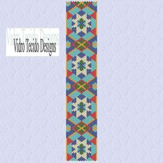 Moroccan Tile 3 Peyote Pattern