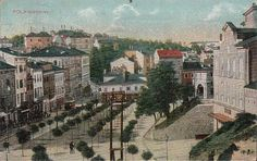 Giardini square, Pula 1918 Austro Hungarian, Pula, Big Ben, Paris Skyline, Painting, Travel, Art, Croatia, Art Background