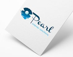 """Check out new work on my @Behance portfolio: """"logo design - pearl interior solutions"""" http://be.net/gallery/34527961/logo-design-pearl-interior-solutions"""