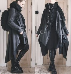 """shortcuttothestars: """" Just because it's all black doesn't mean it's boring"""