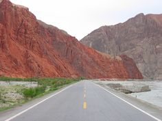 https://flic.kr/p/f9P5Cw | Evidence of an ancient ocean | Here the Pamir plateau is pushing up and over the ancient Tarim Basin creating this fold and thrust complex.  In this 6-7km stretch of the Karakoram Highway along the Ghez River, plate tectonics have exposed strata dating from the Jurassic (205 m.y.a.), to Cretaceous (145-66 m.y.a),  Paleogene (66-56 m.y.a.), and Neogene (23-2.6 m.y.a.).   Elevation: 1800M  Location:  just west of the town of Wyuitake/Oytak (奧依塔克地理) near the Main…