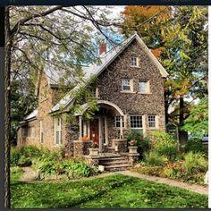 Aberdeen Stone Cottage exterior B&B Traverse City, Michigan