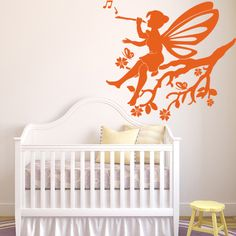 Style and Apply Little Fairy Wall Art Decal