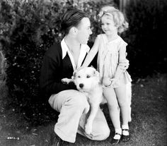 Shirley Temple from Pardon My Pups, my favorite little short movie she is in, so funny. CUTE pic.