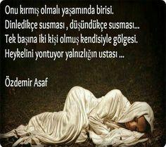 Özdemir Asaf Resimli Sözleri – BilgiSozler.com