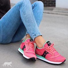 Saucony Jazz pink/mint