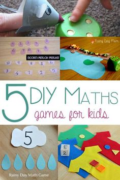 Diy maths games