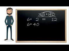Gange med 2-cifrede tal og Peter - YouTube