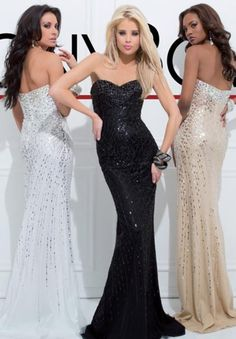114L03 - Ivory, Black, and Champagne