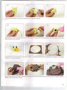 Moldes Para Artesanato em Tecido: Frutas e Legumes