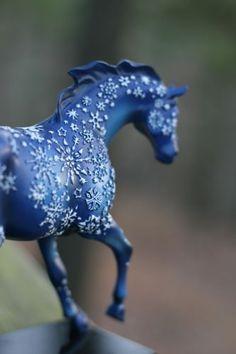 Trail of Painted Ponies - Snowflake