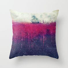 Sailing in dreams II Throw Pillow - $27