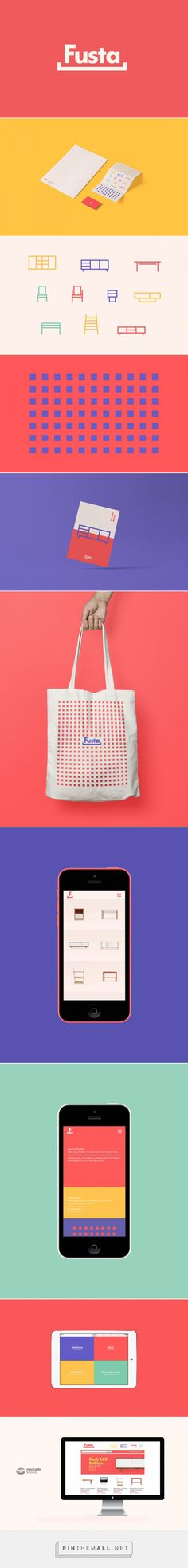 Fusta. on Behance (Furniture Designs Logo)