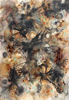 Secret Forest by Sylvia Sotuyo - Secret Forest Painting - Secret Forest Fine Art Prints and Posters for Sale