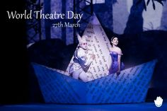 "Today is World Theatre Day!  ""A day without #laughter is a day wasted"" - #CharlesChaplin  #diamundialdelteatro #worldtheatreday #theatreday"