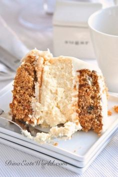 Layered Carrot Cheesecake.  Jezzzz, it's like I am a whore for sugar. And now that I've tried to limit eating it just want to bake-the-crap of of this and hop on the treadmill after.